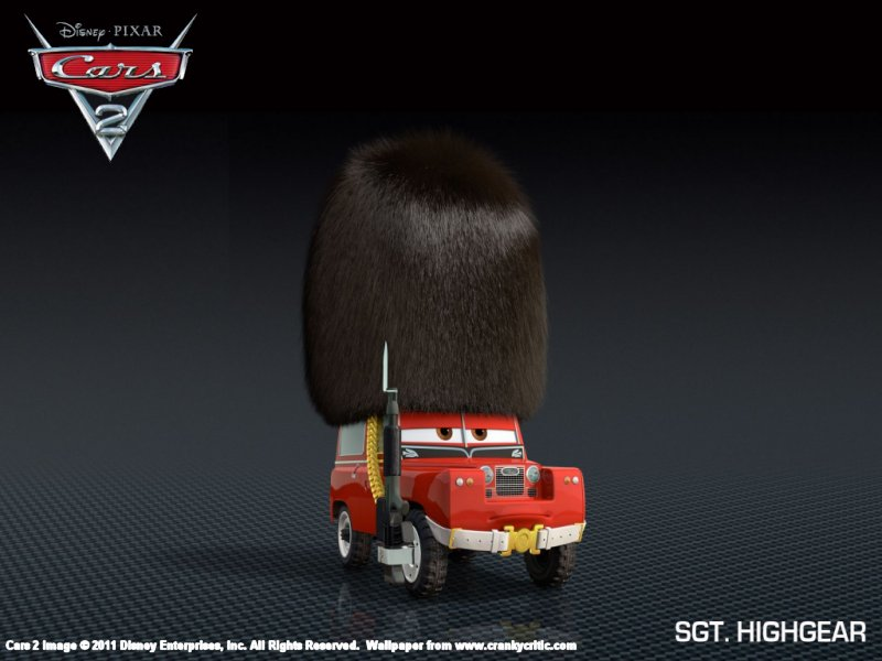 cars 2 sgt. highgear