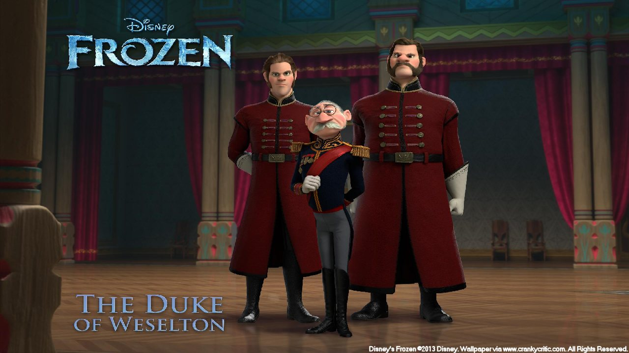 frozen duke